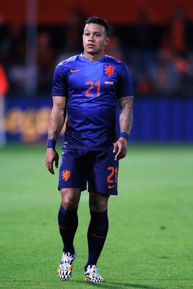 Memphis Depay, WK Voetbal, Australië-Nederland, 2-3, Porto Alegre, Brazilië.