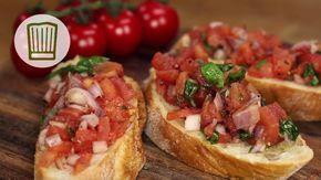 Bruschetta italiana als Amuse Gueule Rezept #chefkoch