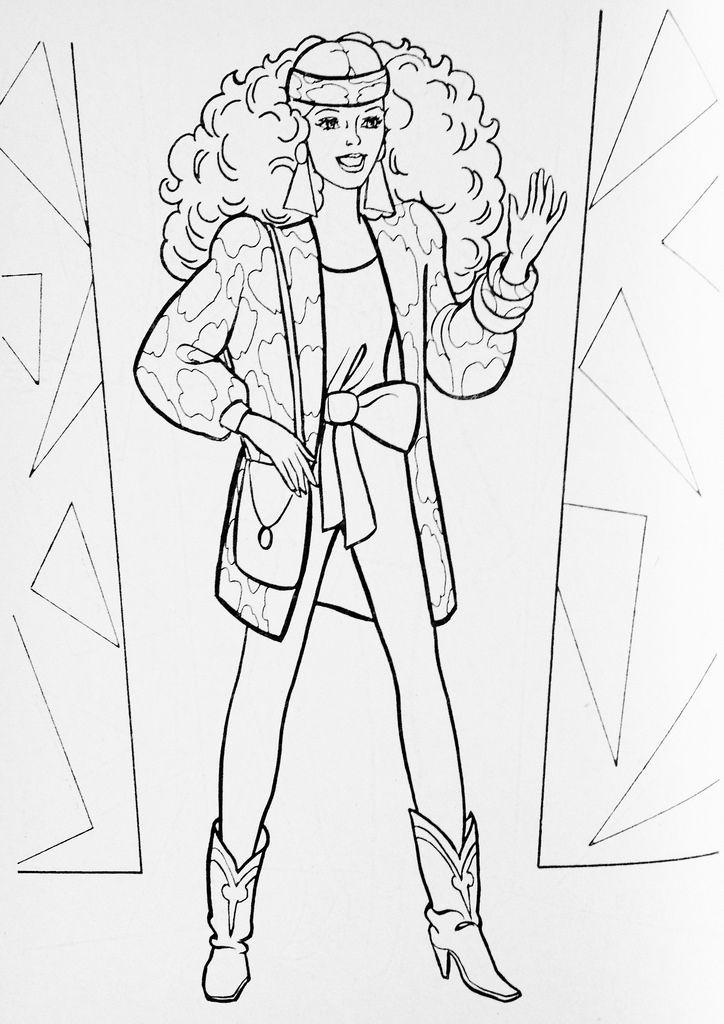Pin By Carol Roche On Barbie Coloring Book Free Kids Coloring Pages Barbie Coloring Barbie Coloring Pages