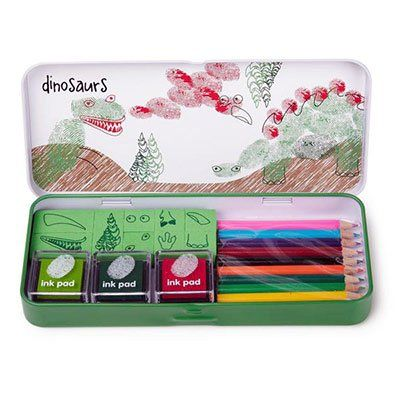 Kids' Finger Paint - Finger Printing Art Set  Dinosaurs >>> Learn more by visiting the image link.