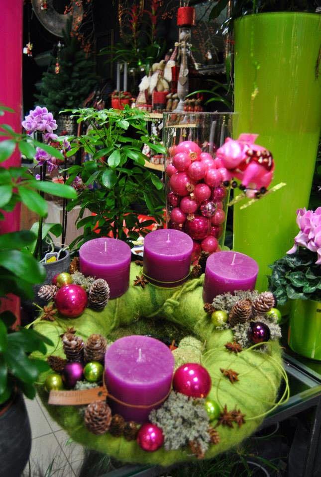 Kellner Andrea karácsonyi virágüzlete