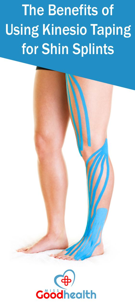 how to fix shin splints with tape
