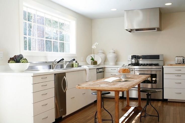 kitchen design no upper cabinets - Google Search