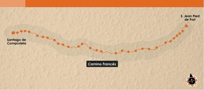 El Camino Francés   Guía del Camino de Santiago   EROSKI CONSUMER
