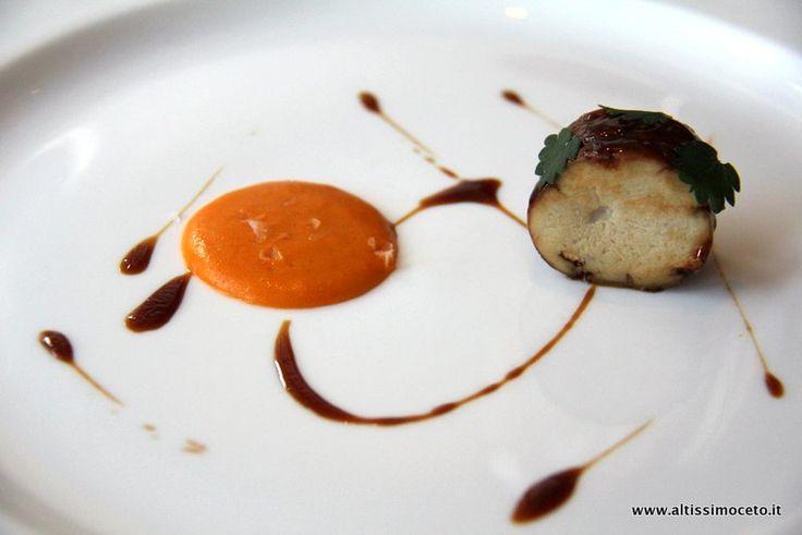 """Rigaglie di vitello in salsa rouille. Ristorante """"Trussardi alla Scala"""""""
