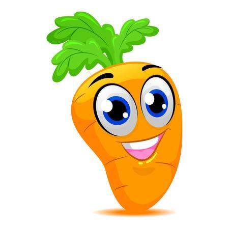Ilustracion Del Vector De La Mascota De La Zanahoria Dibujos Para Ninos Trajes De Frutas Dibujos Animados Zanahoria feliz de dibujos animados. pinterest