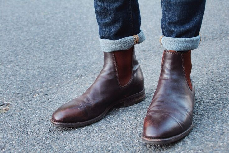 Worn in RM Williams Boots