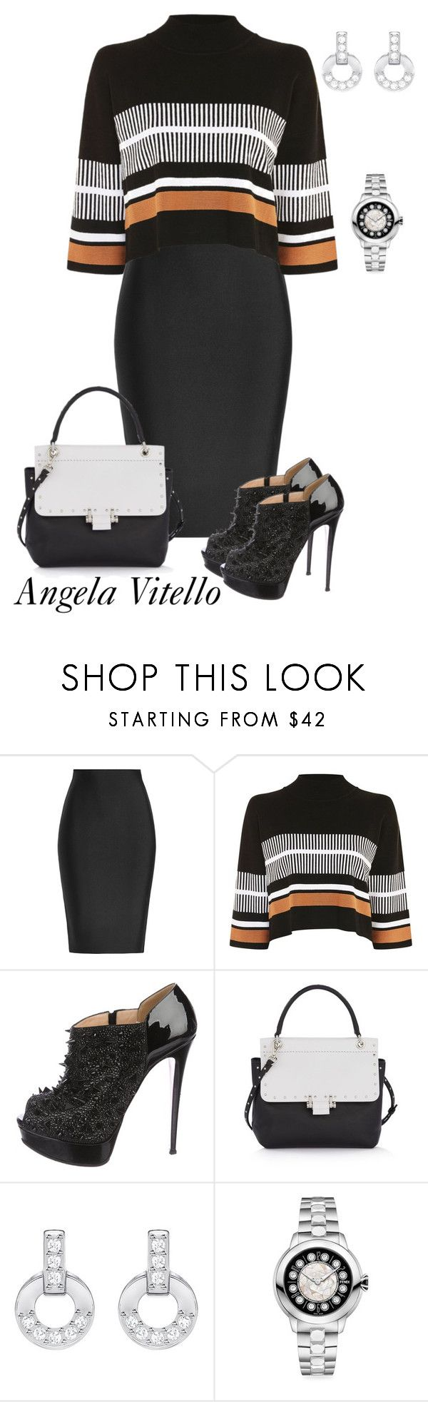 """""""Untitled #1061"""" by angela-vitello on Polyvore featuring Roland Mouret, Native Y…"""