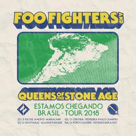 Foo Fighters e QotSA fazem 4 shows no Brasil em fevereiro e março - 20/09/2017 - UOL Entretenimento