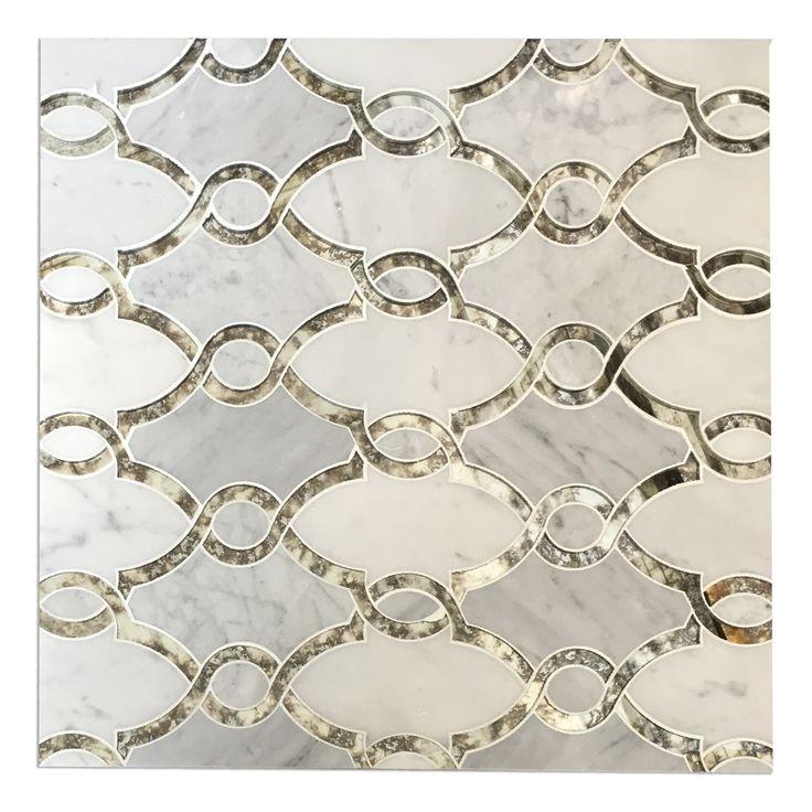 LUXURY WATER JET MOSAIC MARBLE TILE Luxury waterjet mosaic tiles at affordable pricing. Natural Stone waterjet mosaics made affordable for everyone. DIY Kitchen & Bathroom Backsplash. Waterjet mosaic