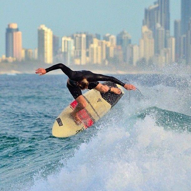 Surfing on the Gold Coast QLD #Australia    Photo by seeaustralia