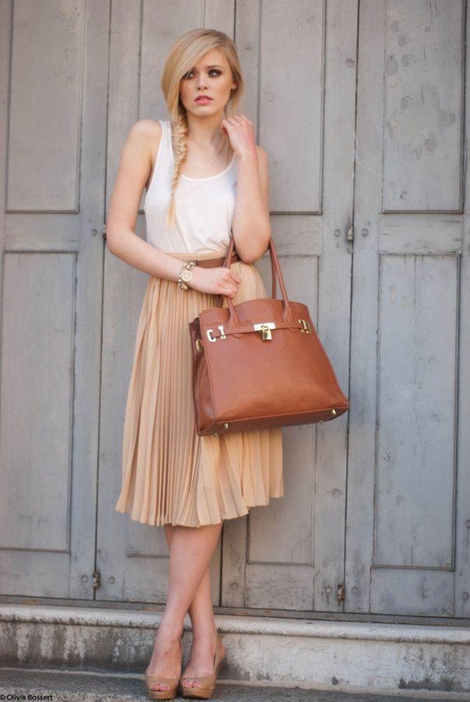 summer-pleated-skirts-styles-12