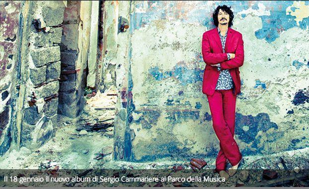 Il 18 gennaio il nuovo album di Sergio Cammariere al Parco della Musica.