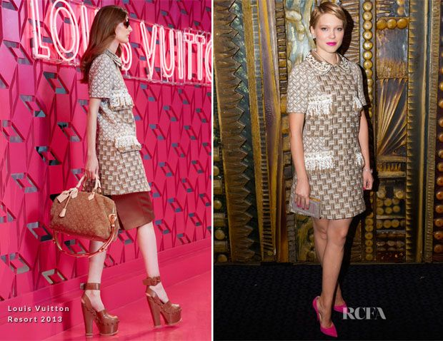 Lea Seydoux In Louis Vuitton - 'Sister' London Film Festival Premiere
