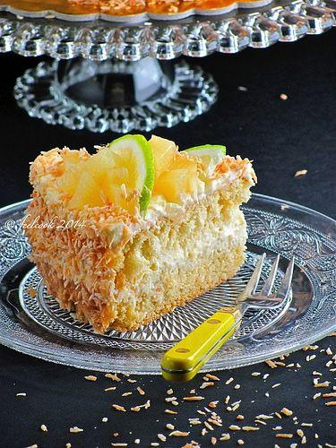 FeelCook cucina per passione: Torta cocco e ananas
