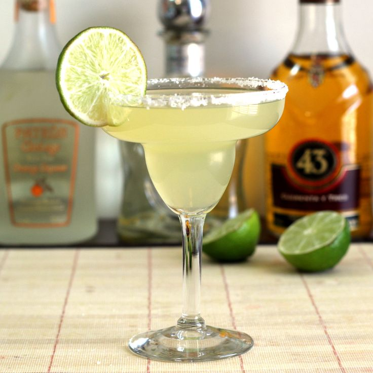 The Honey Vanilla Margarita adds a hint of – you guessed it – honey and vanilla to your traditional margarita flavors. I came up with this one after receiving a sample bottle of Casa Noble Crystal white tequila with which to create a recipe for National... #licor43 #lime #mixthatdrinkoriginal