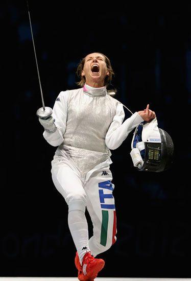 Valentina Vezzali - Fencing