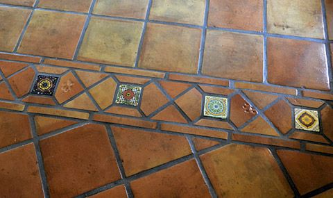 Methods of sealing and finishing Saltillo terra cotta floor tiles. Special notes for Puerto Vallarta.