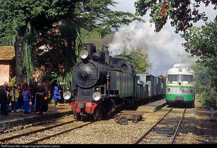 RailPictures.Net Photo: 402 Ferrovie della Sardegna (FdS) Steam 2-6-2 at Sardinia Laconi, Italy by Fabrice Lanoue