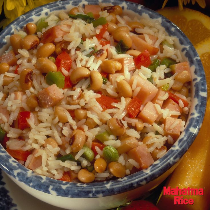 A New Year's Day #Recipe: Southern Hoppin' John >> Ensure good luck in 2015 by eating black eyed peas, a traditional Southern staple that is rumored to bring goodluck and prosperity