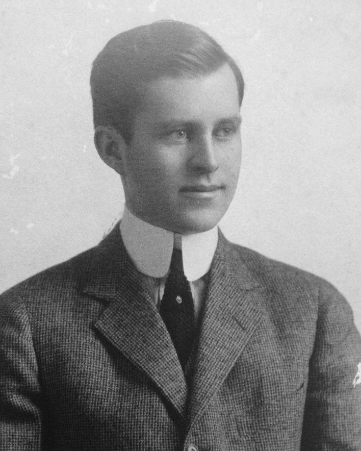 Rose Kennedy's Family Album - Joseph P. Kennedy, the year he graduated from Harvard University with a bachelor of arts, 1912.