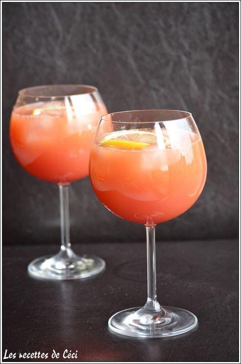 Cocktail exotique: cocktail sans alcool