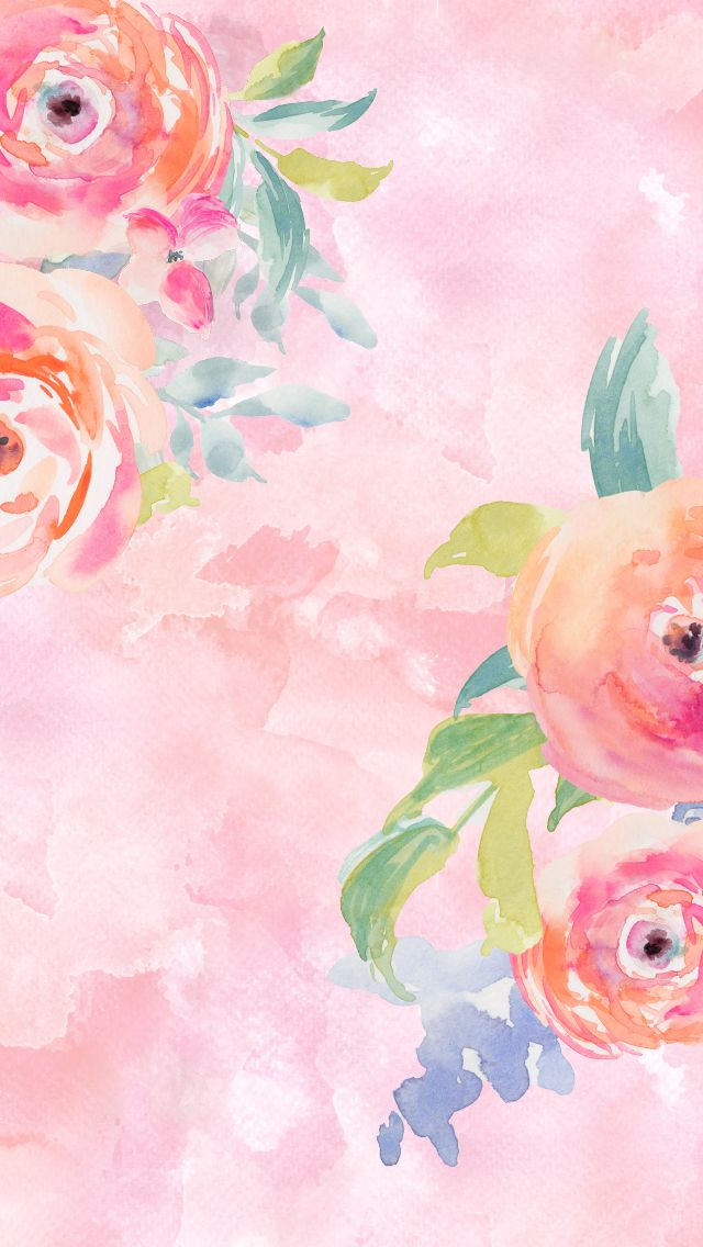 flower painting watercolor wallpaper - photo #47