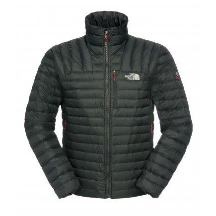 La giacca imbottita in piumino The North Face® Men's Thunder Micro Jacket offre comprimibilità, calore e resistenza per le scalate in clima freddo.