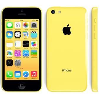 Apple iPhone 5c 8 Go Jaune, Reconditionné à neuf Fnac