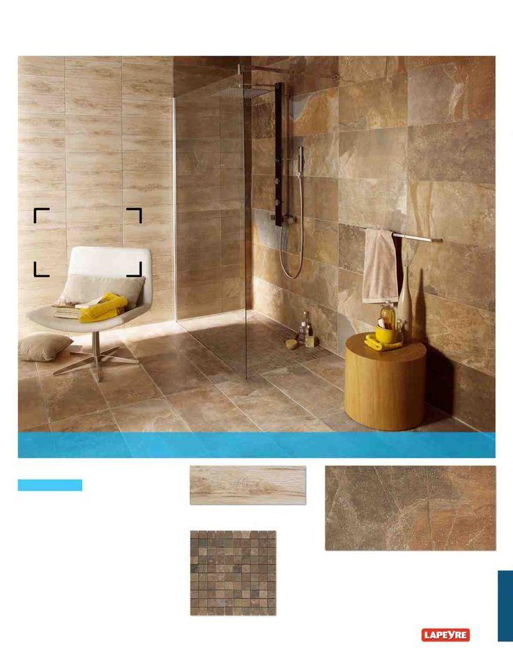 Catalogue Lapeyre Carrelages Salle De Bains 2014 Page 257 Carrelage Salle De Bain Carrelage Imitation Bois Salle De Bains Lapeyre