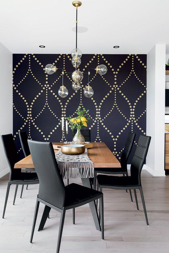 Une maison au style chic et intemporelle en 2020 salle - Deco salle a manger contemporaine ...