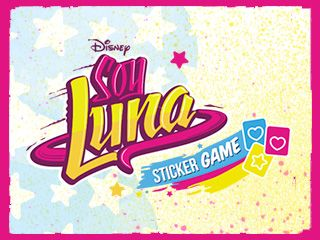 Soy Luna Sticker Game