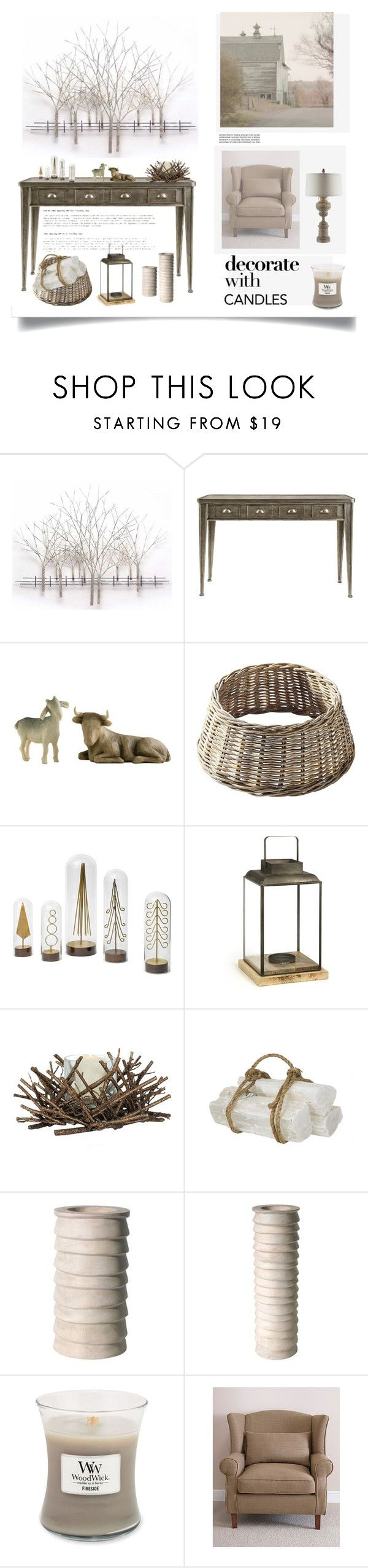 Home decor collage from january 2017 featuring currey company -  Decorate With Candles By Dianefantasy Liked On Polyvore Featuring Interior Interiors
