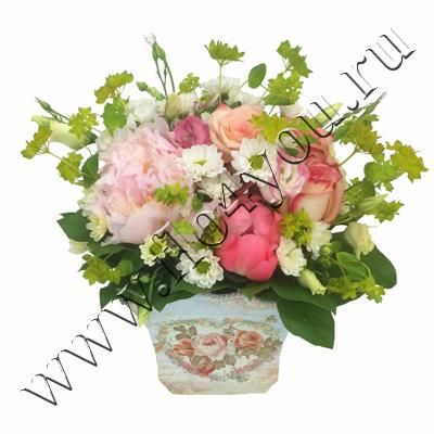 Flo4you - флористика и дизайн / Магазин / Композиция 293020 - срочная доставка цветов
