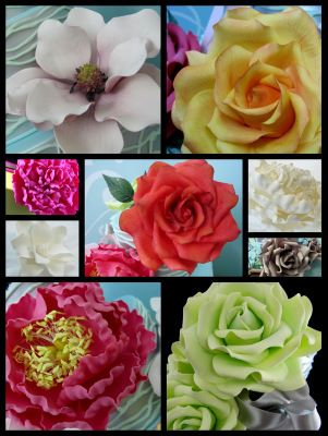 How to Make Gum Paste for Gumpaste Flowers - high humidity recipe from Michelle's Cake Designs
