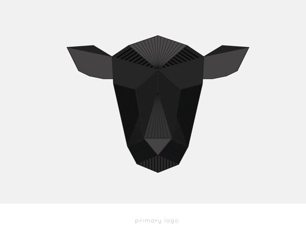 Origa-Sheep  Black Sheep by Bea & Ryan, via Behance