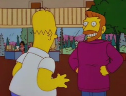 Hank Scorpio.  The Hank Scorpio episode is hands down my favourite Simpsons episode of all time.  The back and forth between Hank and Homer is some of the funniest TV dialogue ever written.