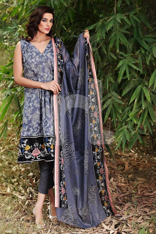 Latest Spring-Summer Dresses Collections 2015-2016 by Pakistani brands | GalStyles.com