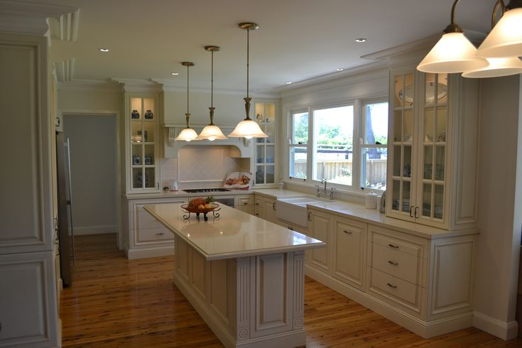 Hand Painted French Provincial Kitchen - Glenorie