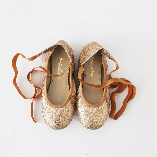 Cute ballet flats by @bellechiara to pair with your favourite tutu. #romiapproved