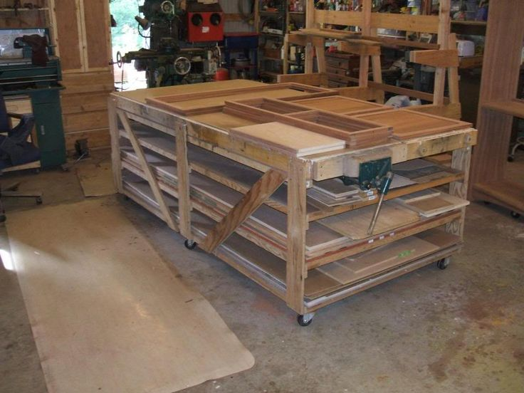 140 best woodworking workbenchs images on pinterest woodwork woodworking projects and workshop ideas - Rolling Workbench
