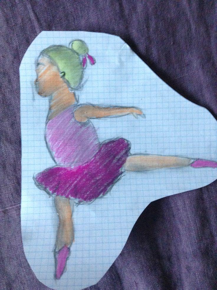 A little bailarina girl