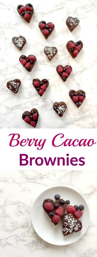 Berry Cacao Brownies - The Perfect Valentine's Day Treat | tanyapaulin.com