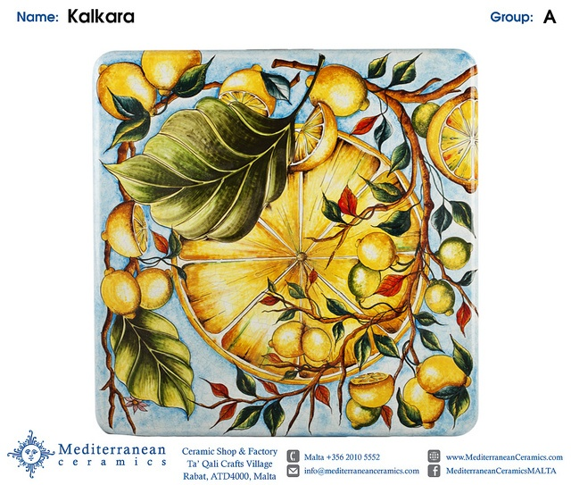 Design: Kalkara (A) by Mediterranean Ceramics, via Flickr