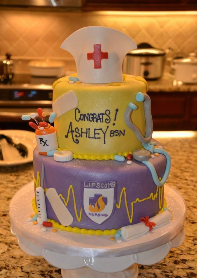 Cake Design Ulm : 336 best images about Cakes and Cookies for Nurses on ...