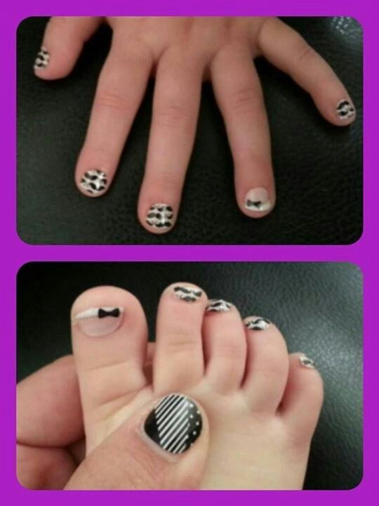 We even carry Jamberry Juniors for the little girls!!  Shop at: http://jesswise326.jamberrynails.net