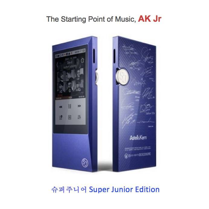 #AstellnKern #AKJr #DAP #MQS #HiResAudio #Limited #Blue #SuperJunior #슈퍼주니어