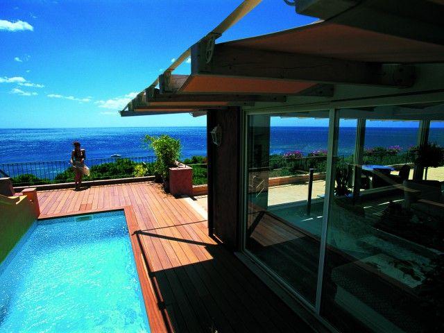 Hotel Castello in Forte Village Resort, Santa Margherita di Pula. The Suite's terrace