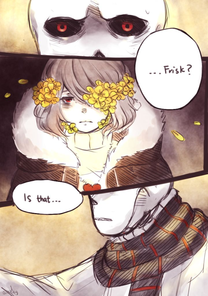 flowerfell sans part5| Tumblr