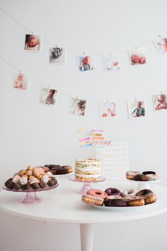 Best 25 Simple first birthday ideas on Pinterest First birthday